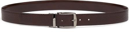 Isaia Reversible leather belt