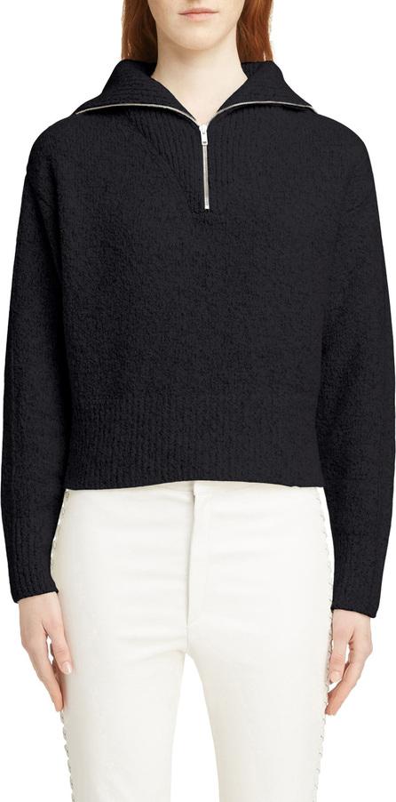 Isabel Marant Fancy Half Zip Wool & Cashmere Blend Sweater