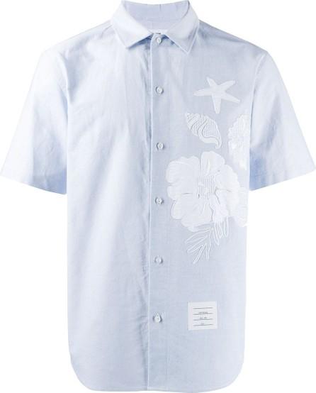 Thom Browne Ocean floor appliqué shirt