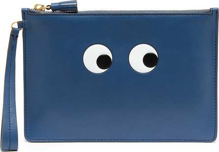 Anya Hindmarch 'Eyes' embossed leather zip pouch