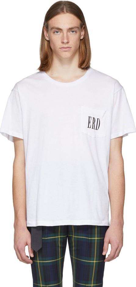 Enfants Riches Deprimes White Embroidered Logo T-Shirt