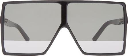 Saint Laurent Betty flat-top acetate sunglasses