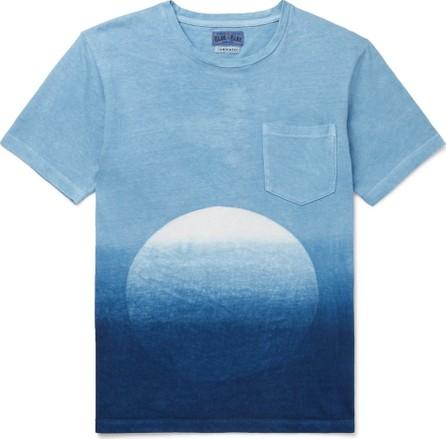 Blue Blue Japan Slim-Fit Dégradé Indigo-Dyed Cotton-Jersey T-Shirt