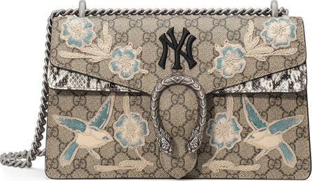 Gucci Dionysus Medium GG New York Yankees Shoulder Bag