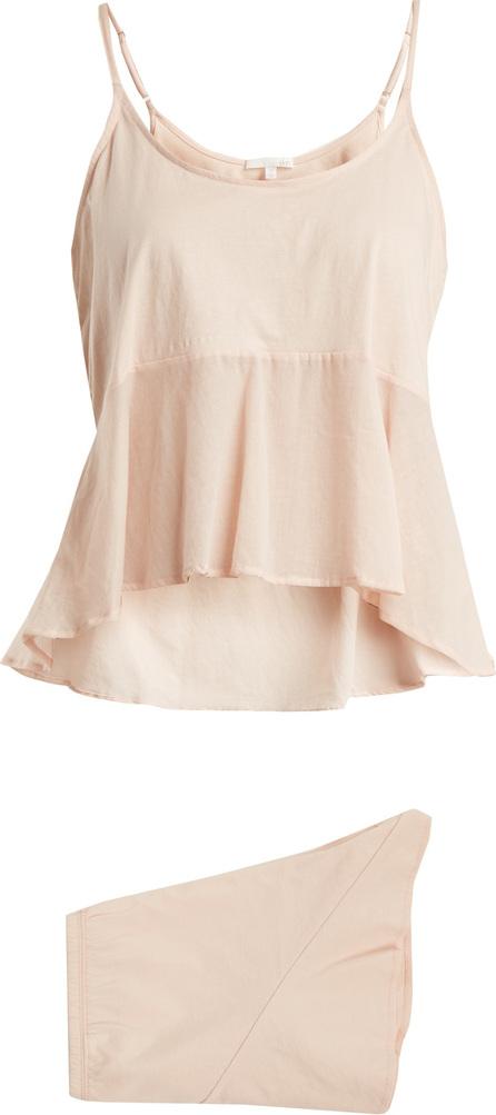 SKIN Larna + Lorna pima-cotton pyjama set