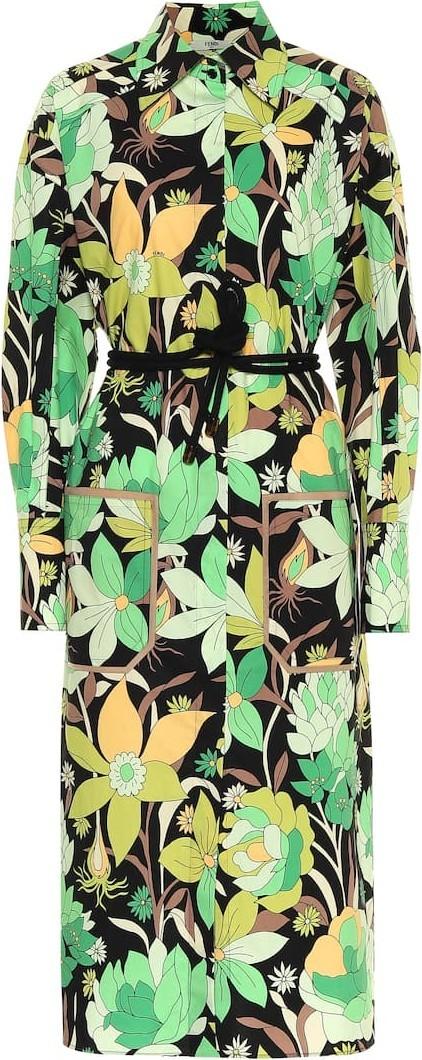 Hogan Floral cotton dress