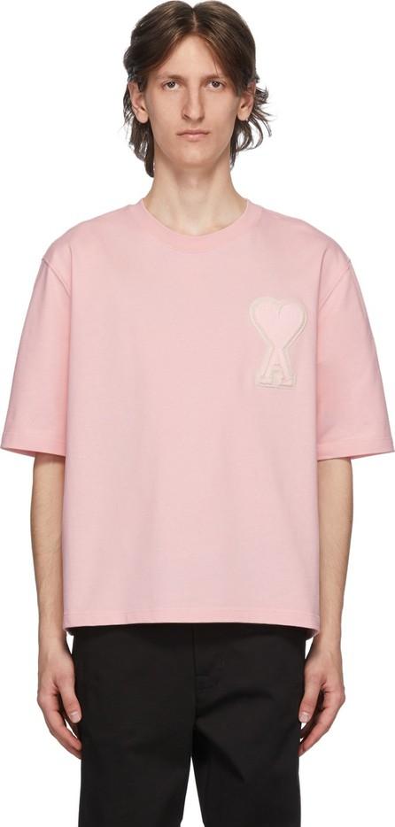 AMI SSENSE Exclusive Pink Ami De Coeur T-Shirt