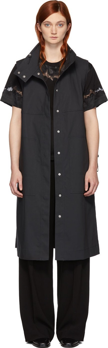3.1 Phillip Lim Grey Trench Vest