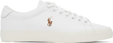 Polo Ralph Lauren White Longwood Sneakers