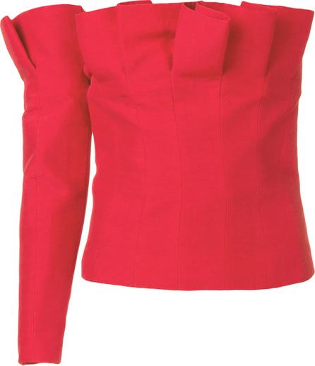 Carmen March One shoulder blouse