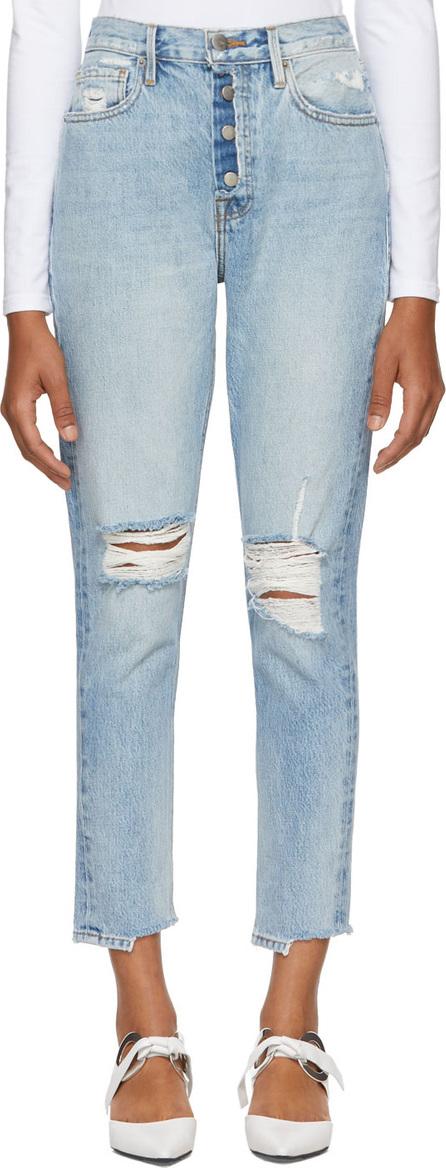 FRAME DENIM Blue Rigid Re-Release Le Original Jeans