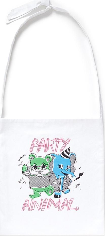 Ground-Zero Party Animal' shopping tote