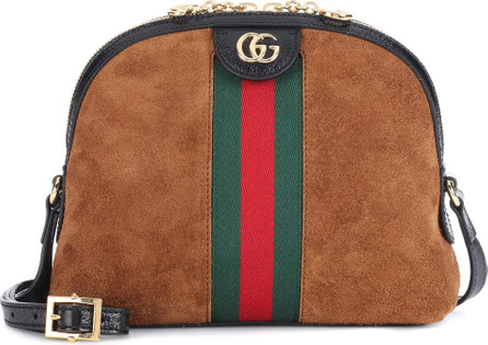 Gucci Ophidia suede crossbody bag