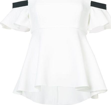 Rachel Zoe Off-shoulder flared blouse