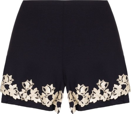 La Perla Brenda embroidered pyjama shorts