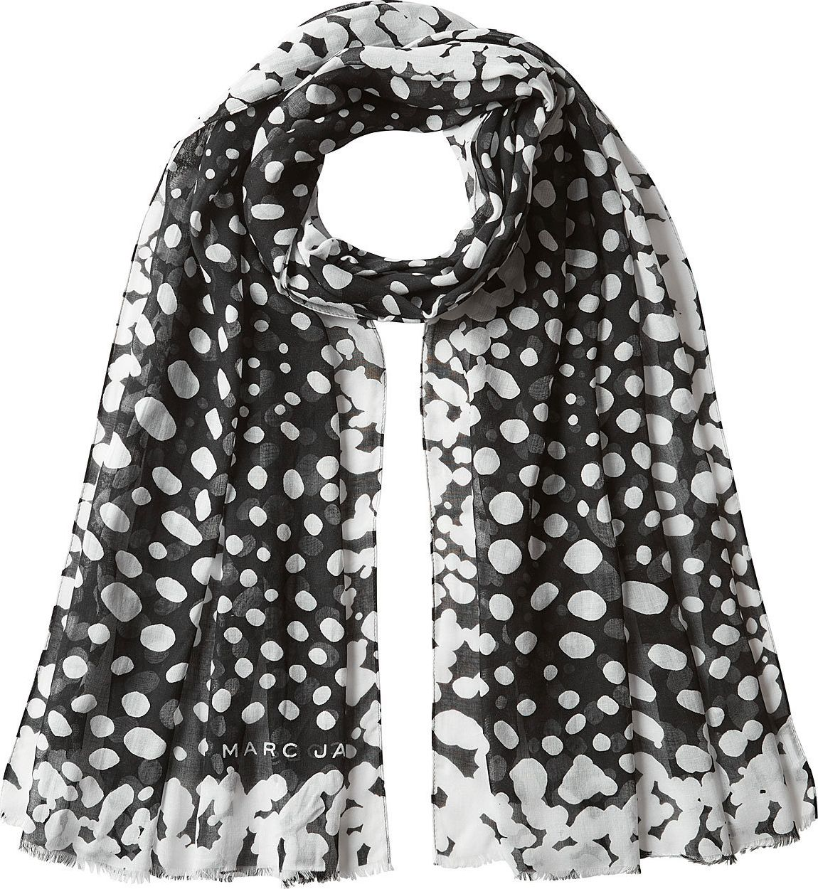 MARC JACOBS - Printed Scarf with Silk