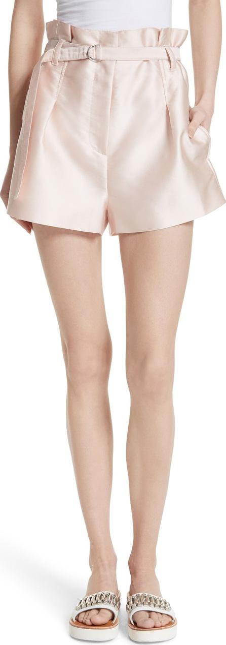 3.1 Phillip Lim Origami Satin Shorts
