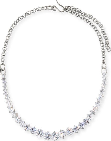 Fallon Monarch Graduated Crystal Choker Necklace
