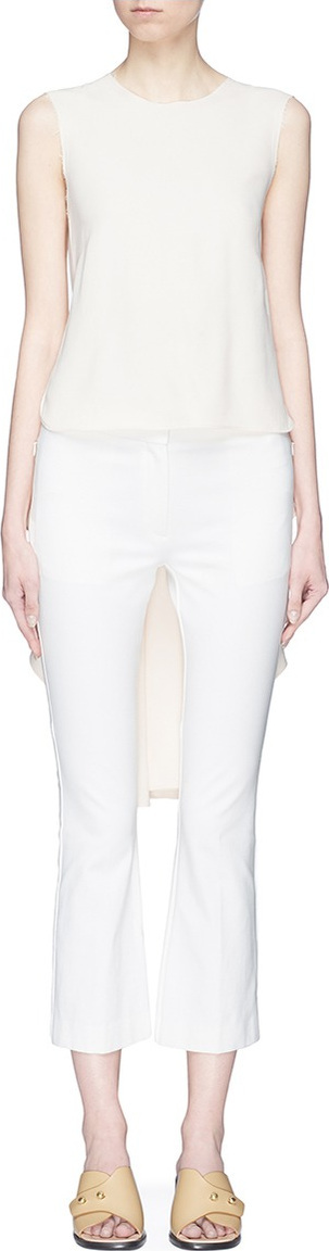 Alexander White 'The Daryl' sleeveless high-low top