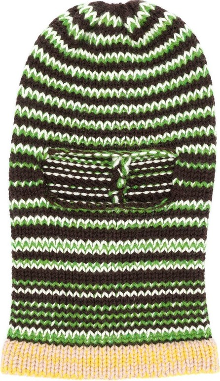 Calvin Klein 205W39NYC Striped ski mask