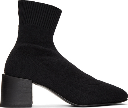 Acne Studios Black Knitted Sock Boots