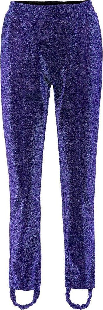 Golden Goose Deluxe Brand Dele metallic stirrup trousers
