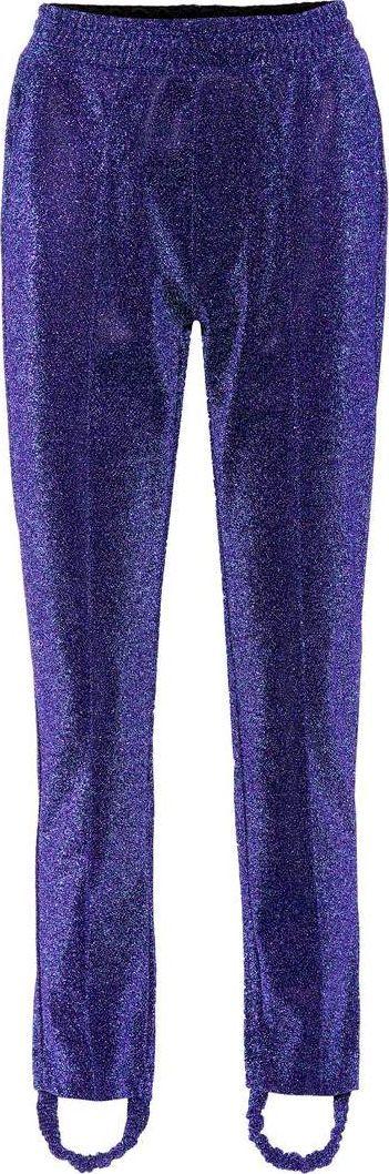 Golden Goose Deluxe Brand Dele metallic stirrup trousers