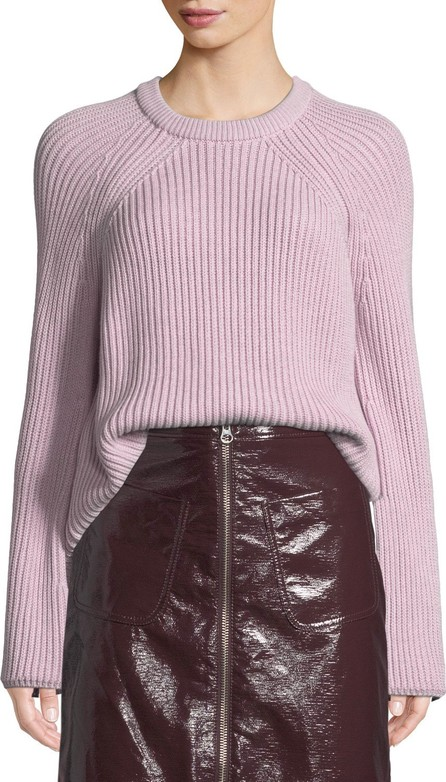 McQ - Alexander McQueen Ribbed Lace-Up Pullover Sweater