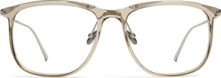 Linda Farrow Square-frame acetate glasses