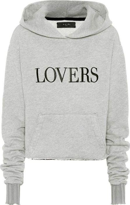 Amiri Cotton-blend hoodie
