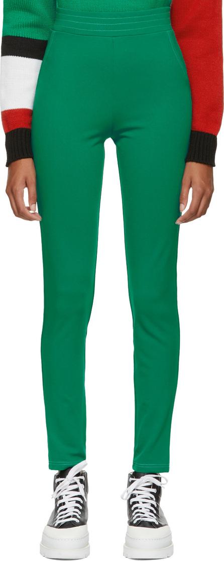 Anton Belinskiy Green Stretch Trousers