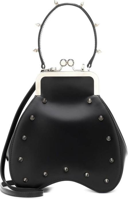 Simone Rocha Studded leather shoulder bag