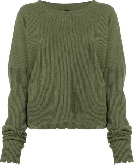 Ben Taverniti Unravel Project Frayed knit sweater