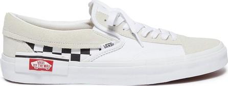 Vans 'Slip-on Cap' checkerboard patchwork canvas sneakers