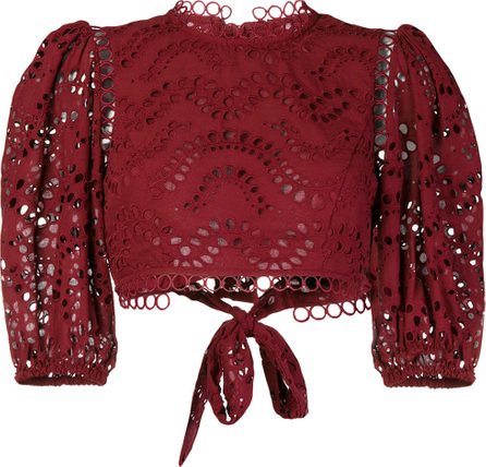 Zimmermann Broderie anglaise blouse