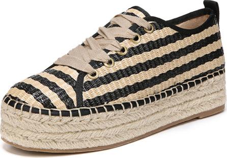Sam Edelman Cabrera Platform Espadrille Lace-Up Sneaker