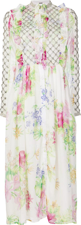 DODO BAR OR Floral print midi dress