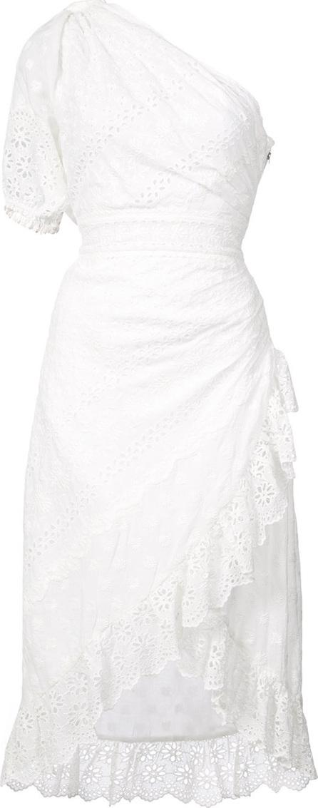 Ulla Johnson Embroidered one shoulder dress