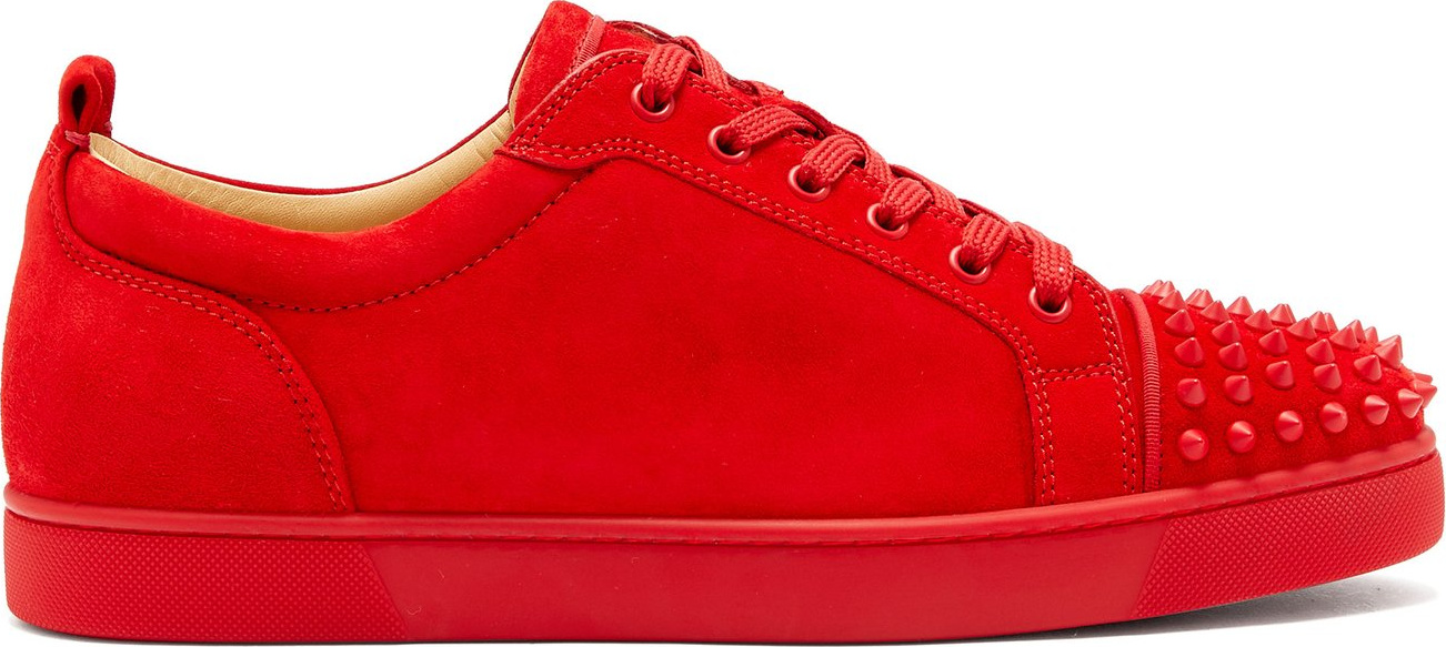 check out 7e14b 3891b Louis Junior suede low-top trainers