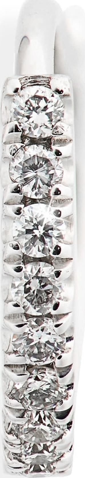 Maria Tash Diamond Eternity Hoop Earring
