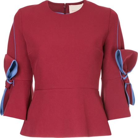 Roksanda Bow cuff blouse