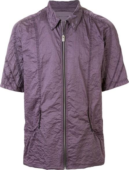 1017 ALYX 9SM Zip-up short-sleeved shirt