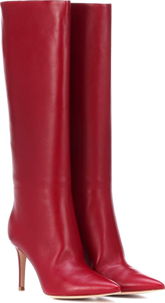 Gianvito RossiSuzan 85 leather boots MpKl6jr8a