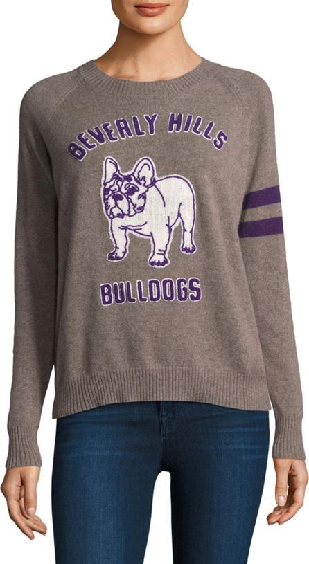 27 Miles Malibu Bulldog Crewneck Cashmere Sweater