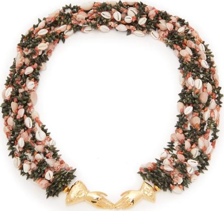 Heimat Atlantica Marta shell-embellished necklace