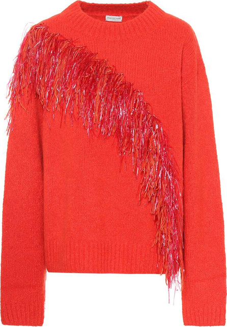 Dries Van Noten Embellished wool and cashmere sweater