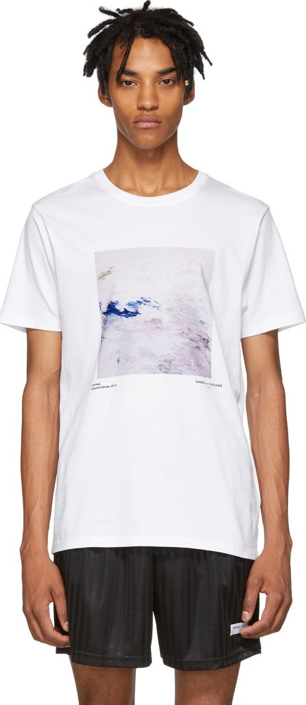 Daniel W. Fletcher White Untitled Painting 1 T-Shirt