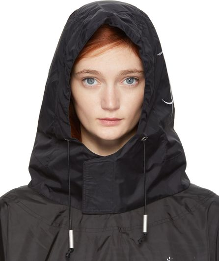 A-Cold-Wall* SSENSE Exclusive Black Technical Nylon Hood