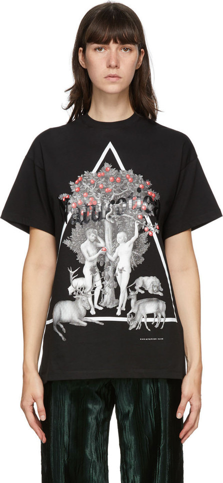 Christopher Kane Black Naturotica T-Shirt