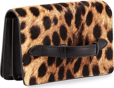 Alaïa Leopard-Printed Clutch Bag